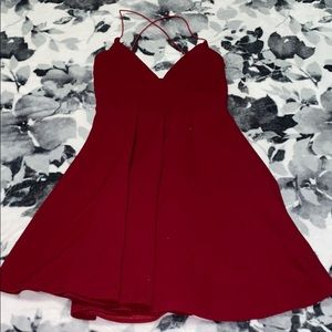 Pretty little thing Maroon mini